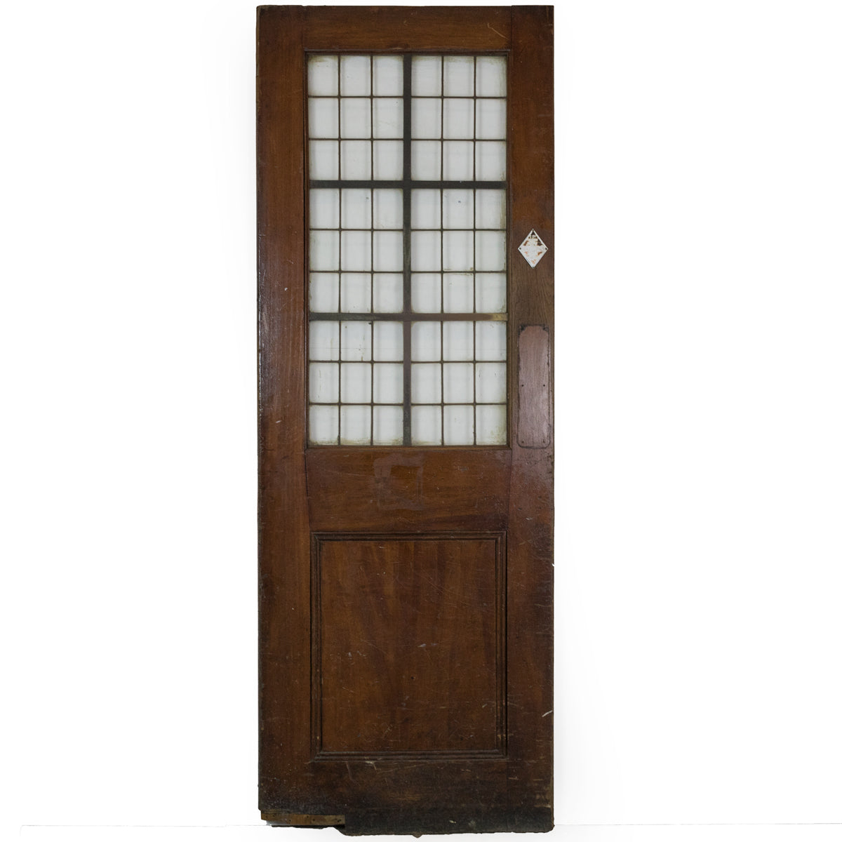 Reclaimed Oak Copper Light Door- 207cm x 74cm