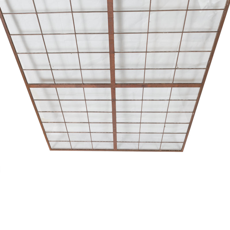 Reclaimed Glass Copper light Panels 78.5cm X 150cm - architectural-forum