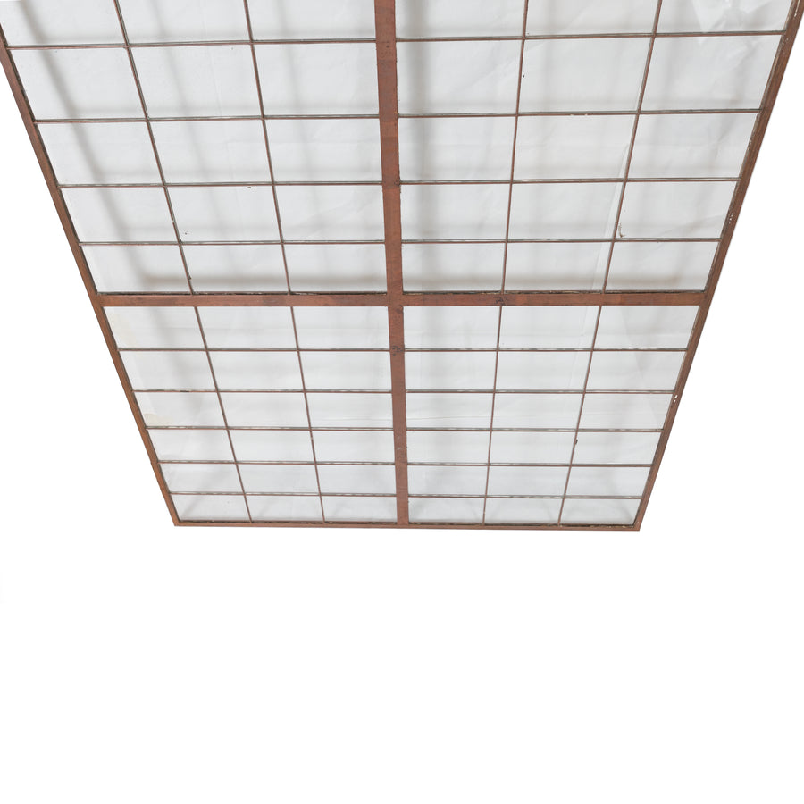 Glass Copper light Panels 78.5cm X 150cm - The Architectural Forum