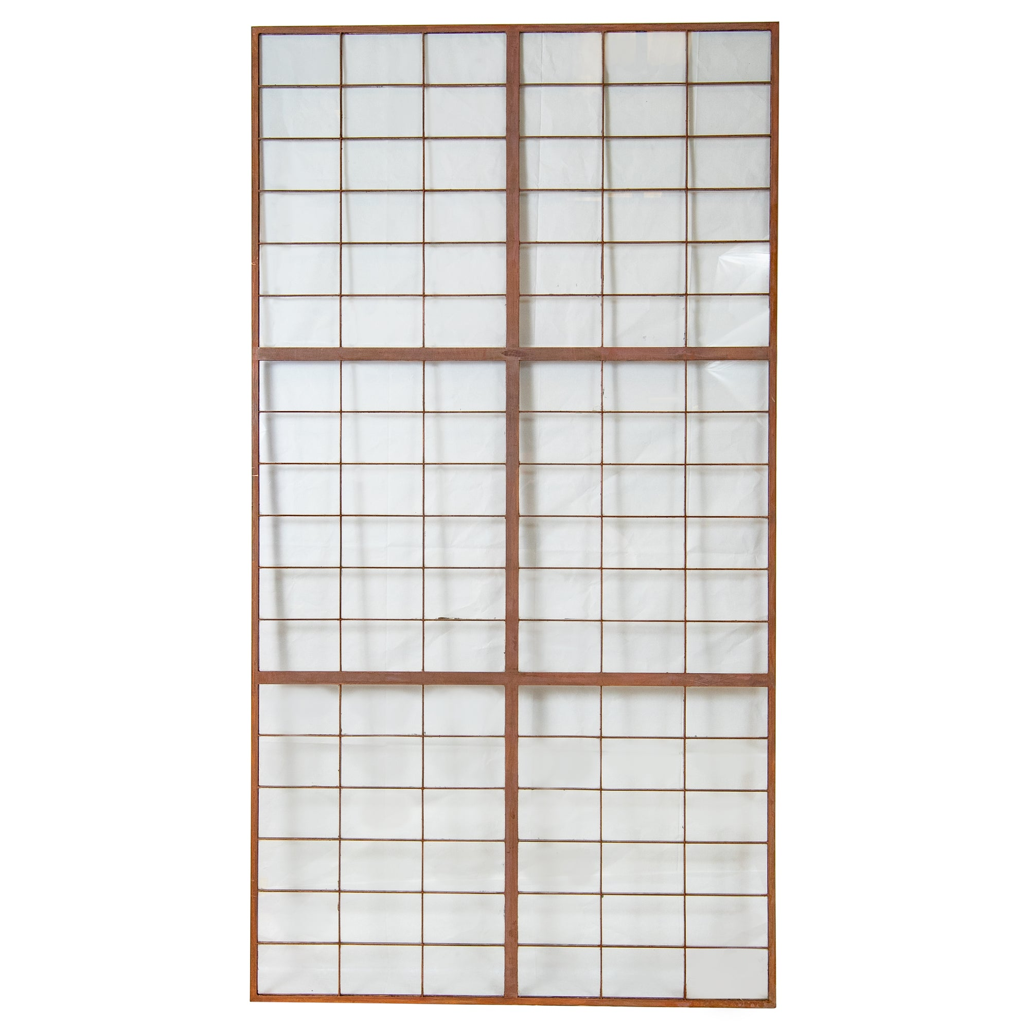 Reclaimed Glass Copper light Panels 78.5cm X 148cm - architectural-forum