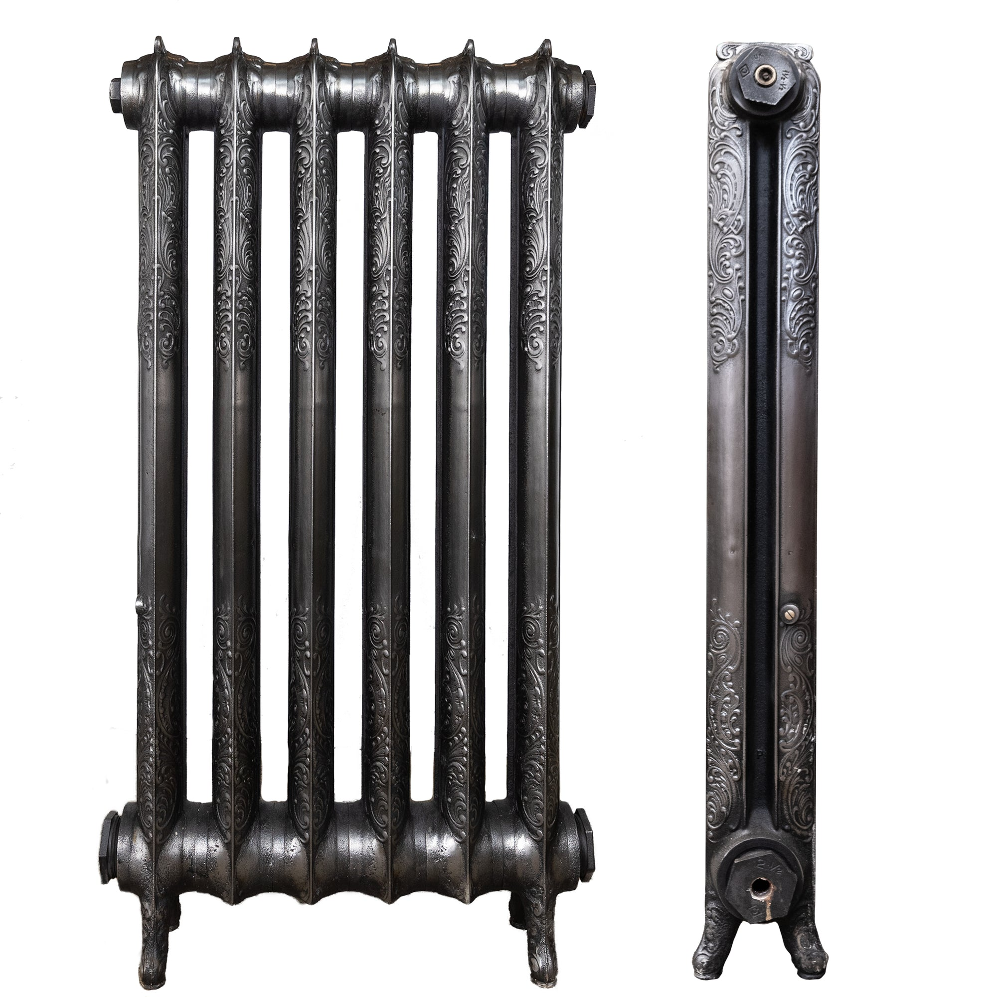 Antique Decorative Cast Iron Two Column Radiator