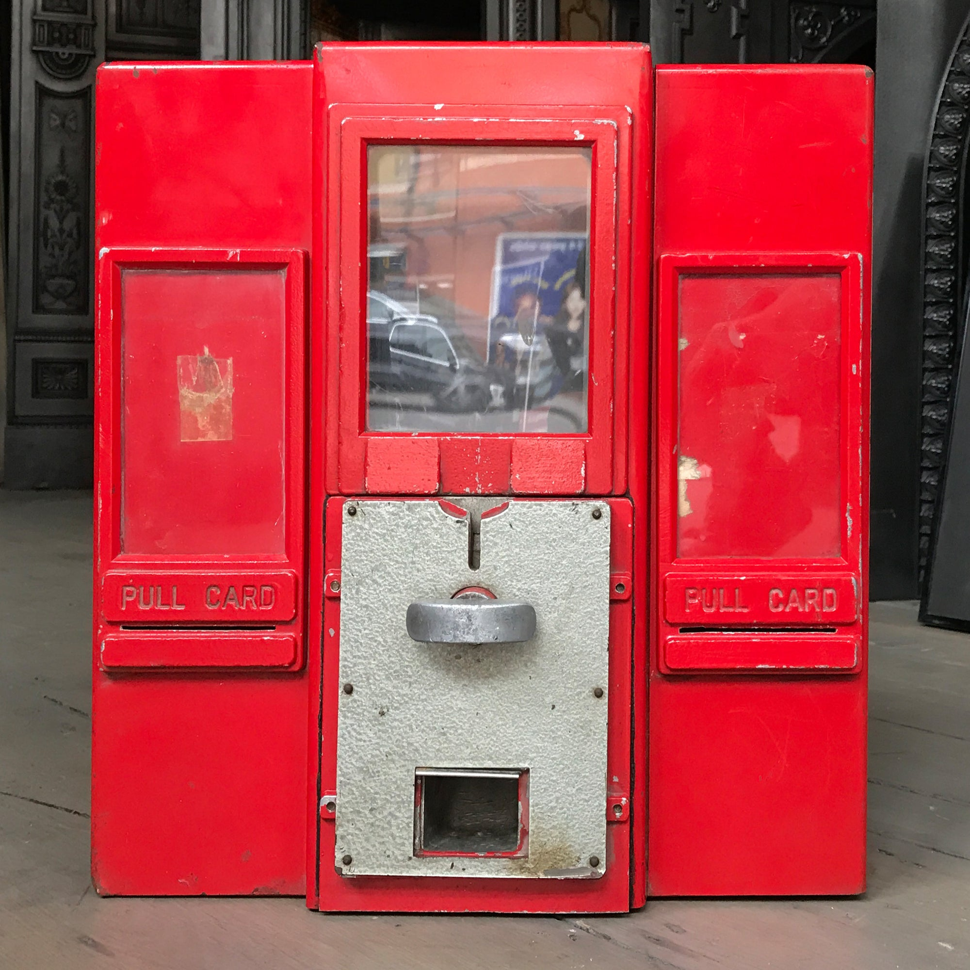 Reclaimed Vintage Postage Stamp Dispenser - architectural-forum
