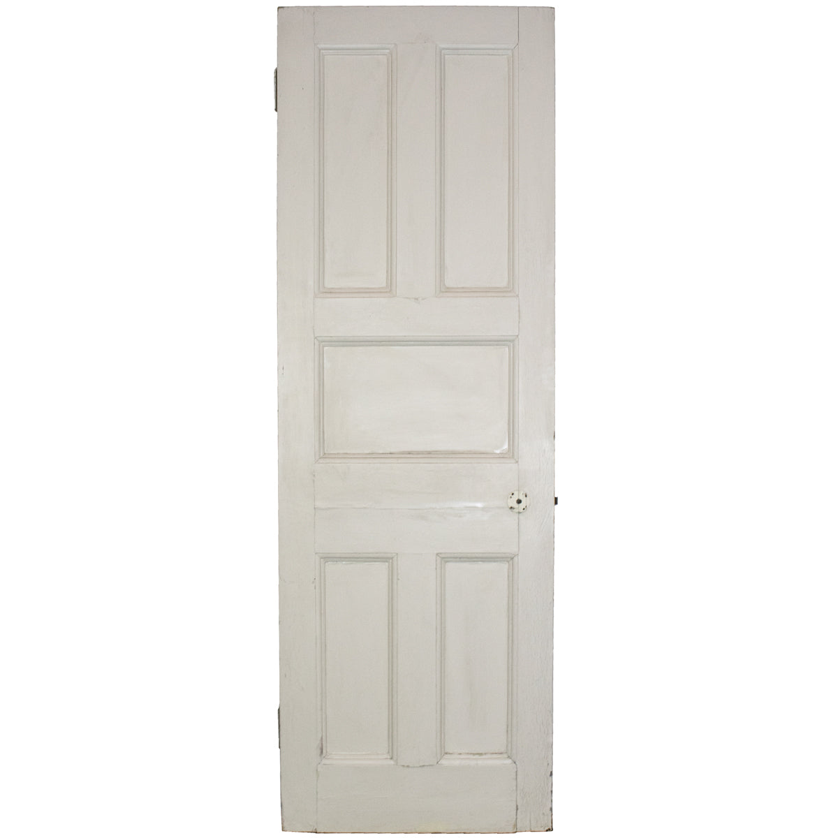 Antique Victorian Five Panel Door - 209cm x 69cm