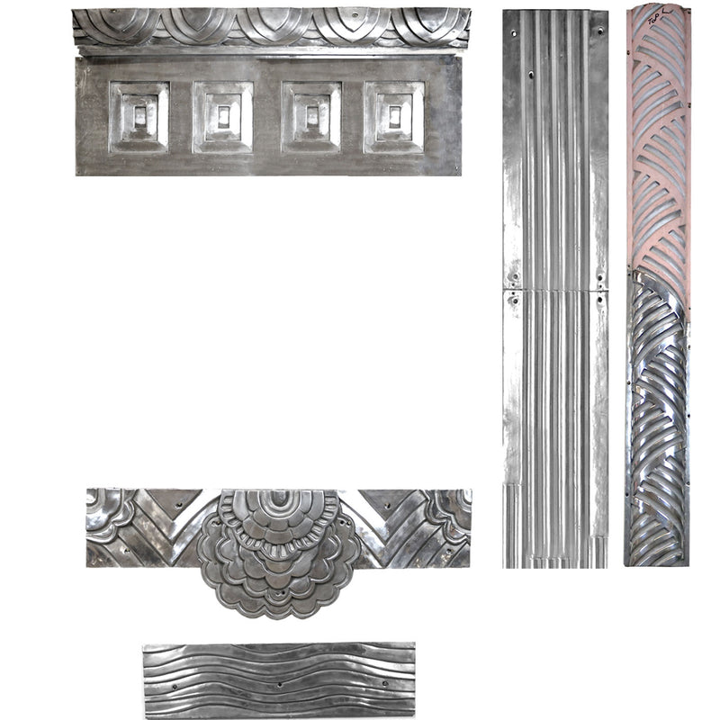 Aluminium Art Deco Architectural Elements