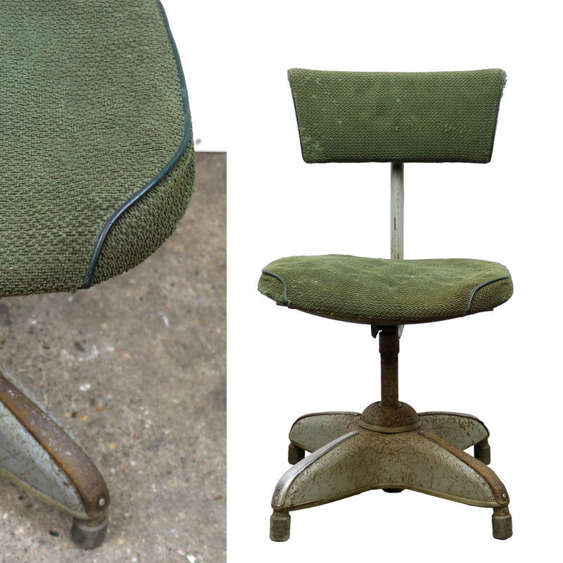 1950's Industrial Swivel Chair - The Architectural Forum