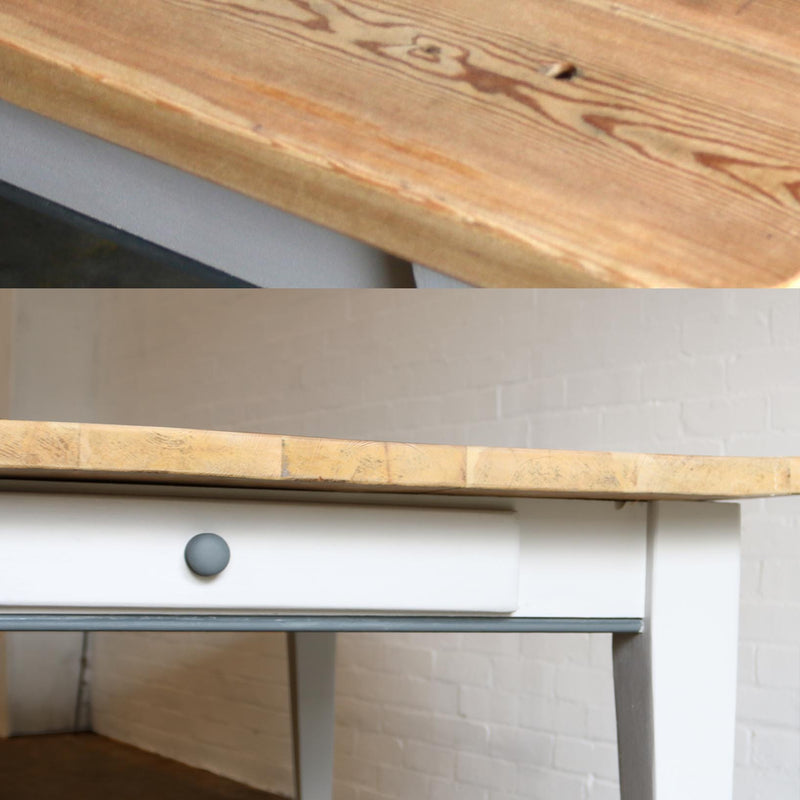 Reclaimed Farmhouse Table - architectural-forum