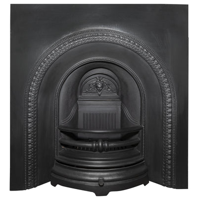 Reclaimed Victorian Style Cast Iron Fireplace Insert