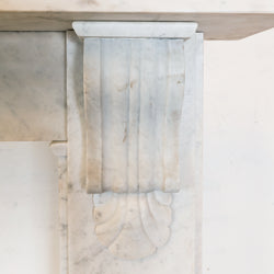 Antique Victorian Marble Surround with Corbels