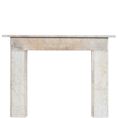 Antique Georgian Carrara Marble Surround - The Architectural Forum