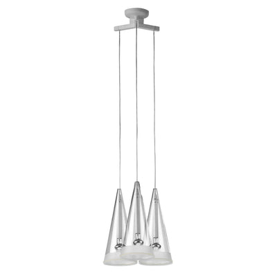 Reclaimed Flos Fucsia Trio Cone Suspended Lights - architectural-forum