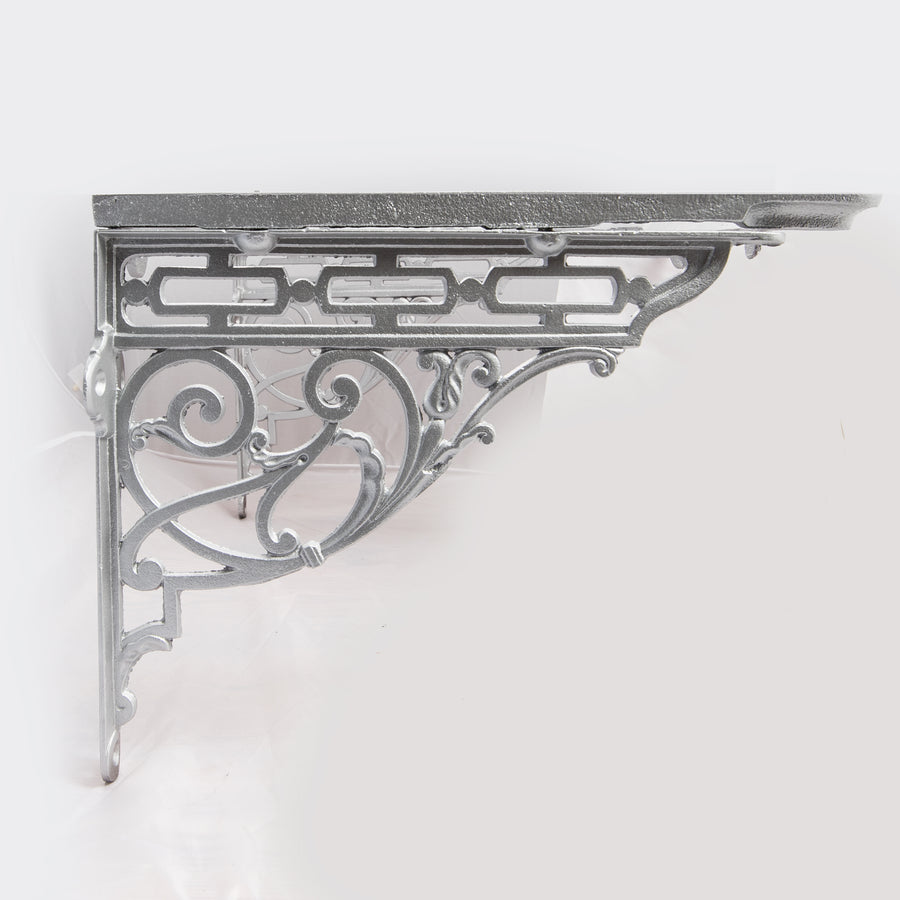 Antique Victorian Ornate Iron Sink Cradle/Bracket