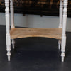 ANTIQUE VICTORIAN PAINTED PINE WASH STAND