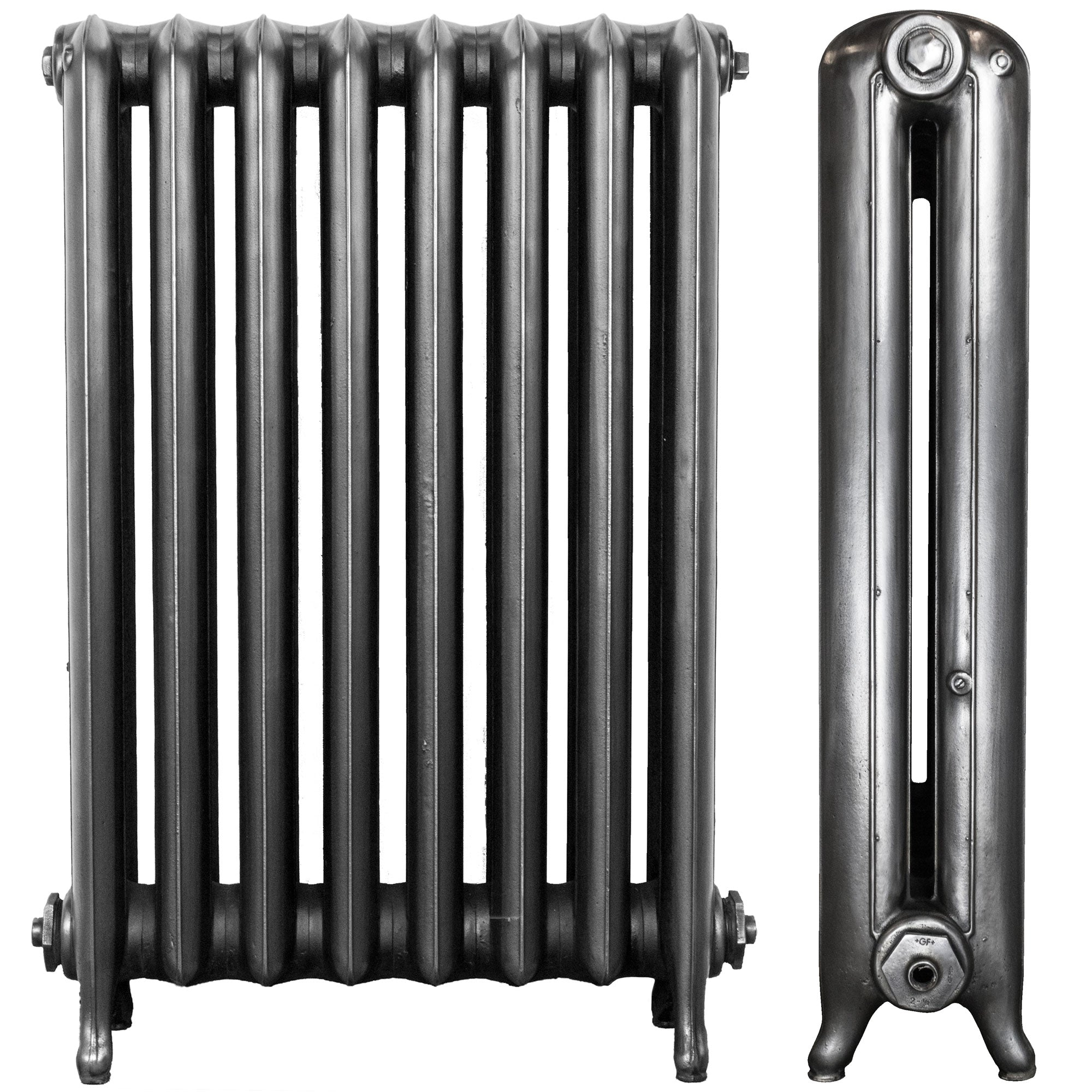 Antique 2 Column Cast Iron Radiator 8 Section