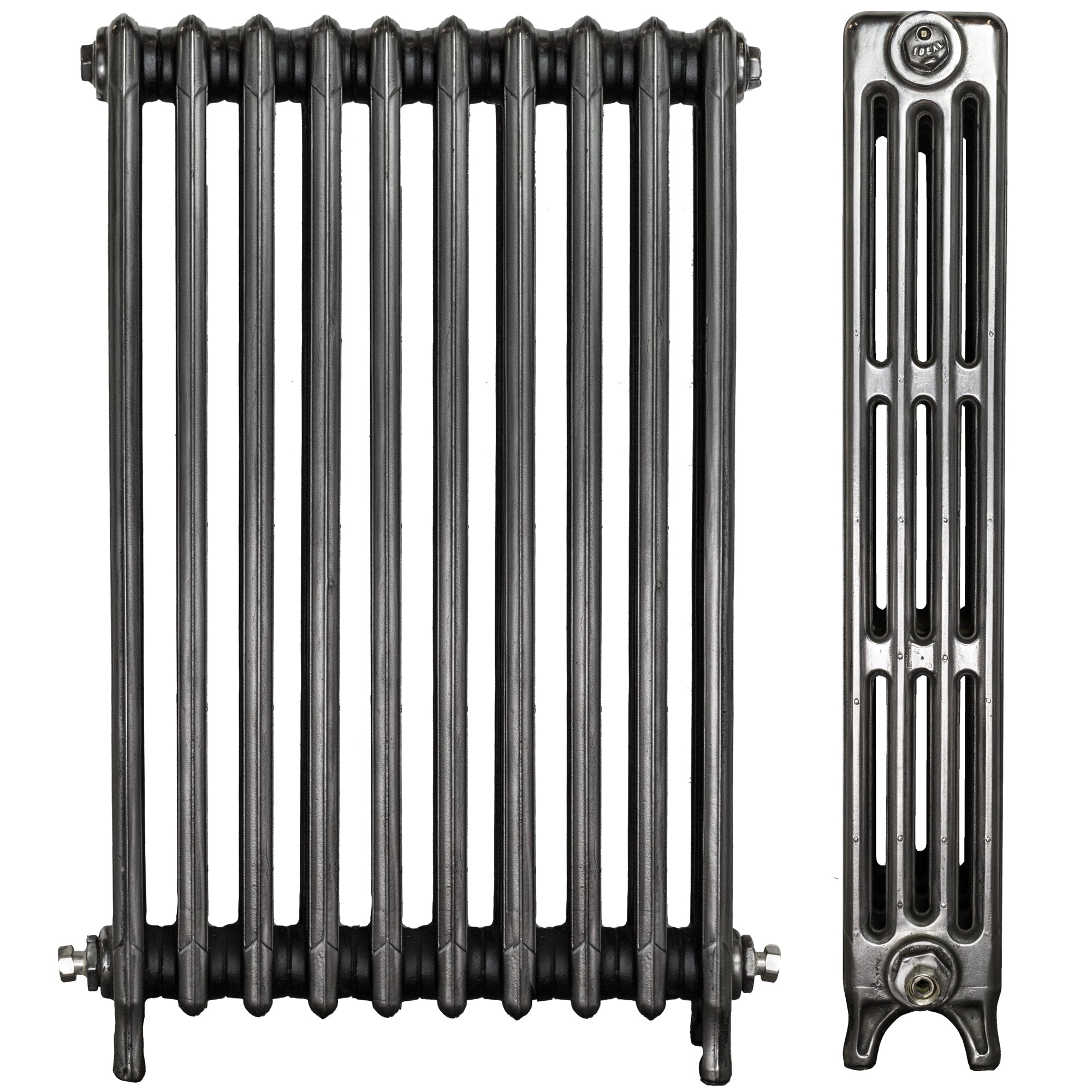 Fully Restored Ideal Cast Iron Radiator 4 Column 10 Section (92cm tall)