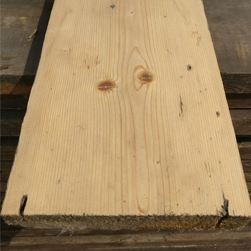 Early Victorian Pine Floorboards 80M² Available