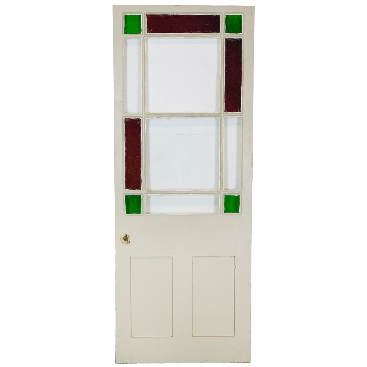 Reclaimed Antique Victorian glazed Door 188cm x 72cm