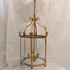 Large Antique 19th Century Brass Lantern - architectural-forum
