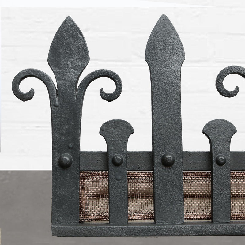 Antique Fire Fender - The Architectural Forum