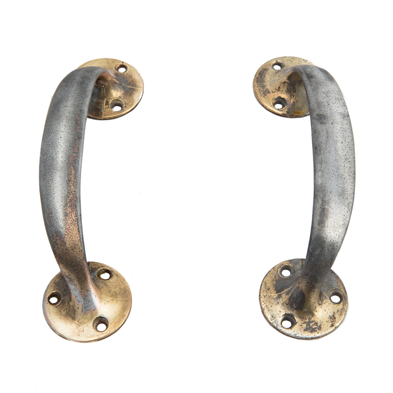Reclaimed Brass Plated Pull Handles