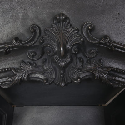 Antique Early Victorian Cast Iron Insert - The Architectural Forum