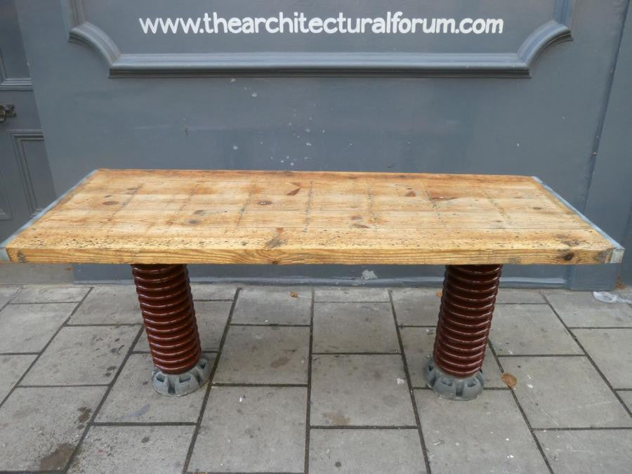 Industrial Electrical Insulator Table | The Architectural Forum