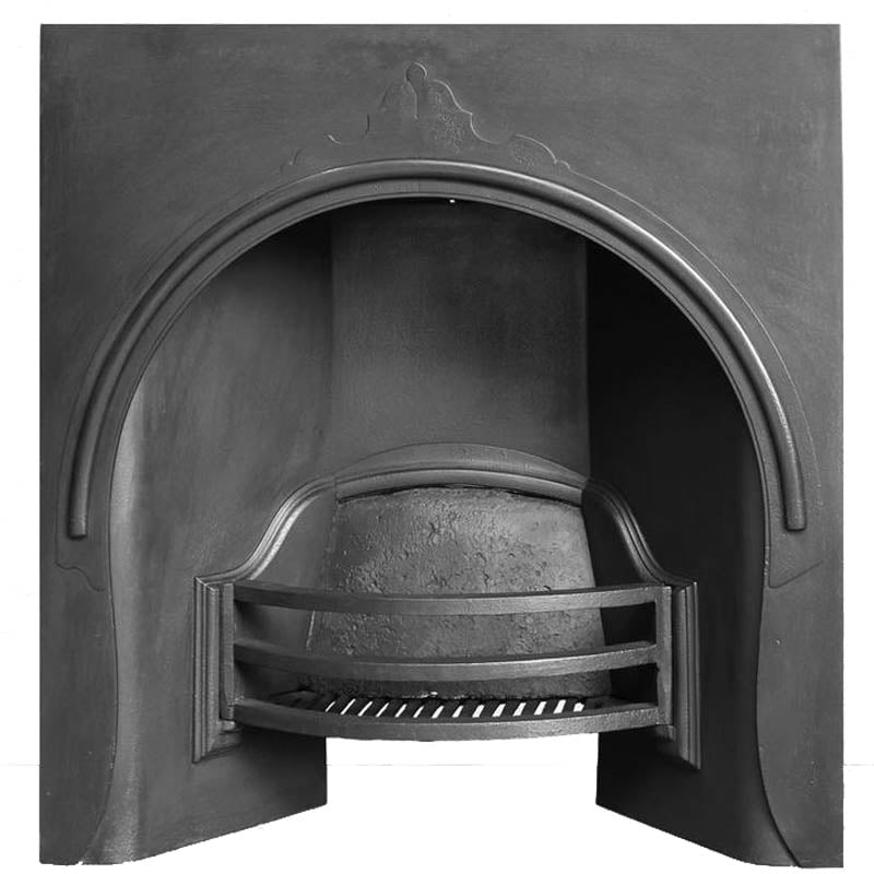 Victorian Cast Iron Fire Insert