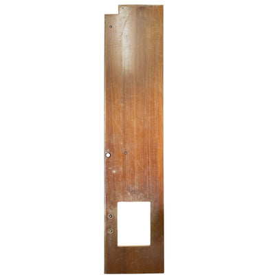 Reclaimed Teak / Iroko Worktop 323.5 X 67cm - architectural-forum