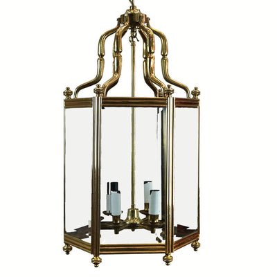 Antique Reclaimed Brass Lantern - The Architectural Forum
