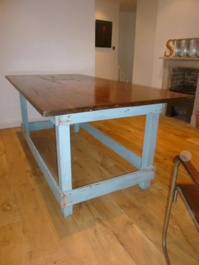 Industrial Work Bench Table | The Architectural Forum