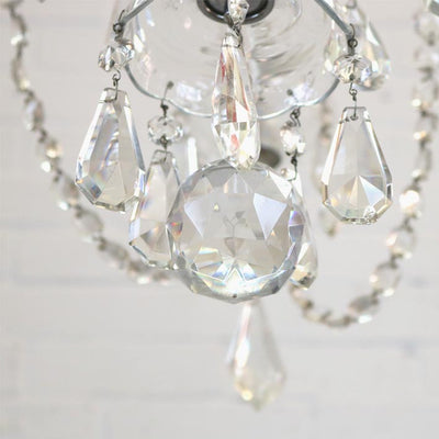 Antique Crystal Chandelier - The Architectural Forum