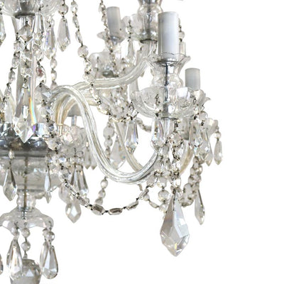 Antique Crystal Chandelier - architectural-forum