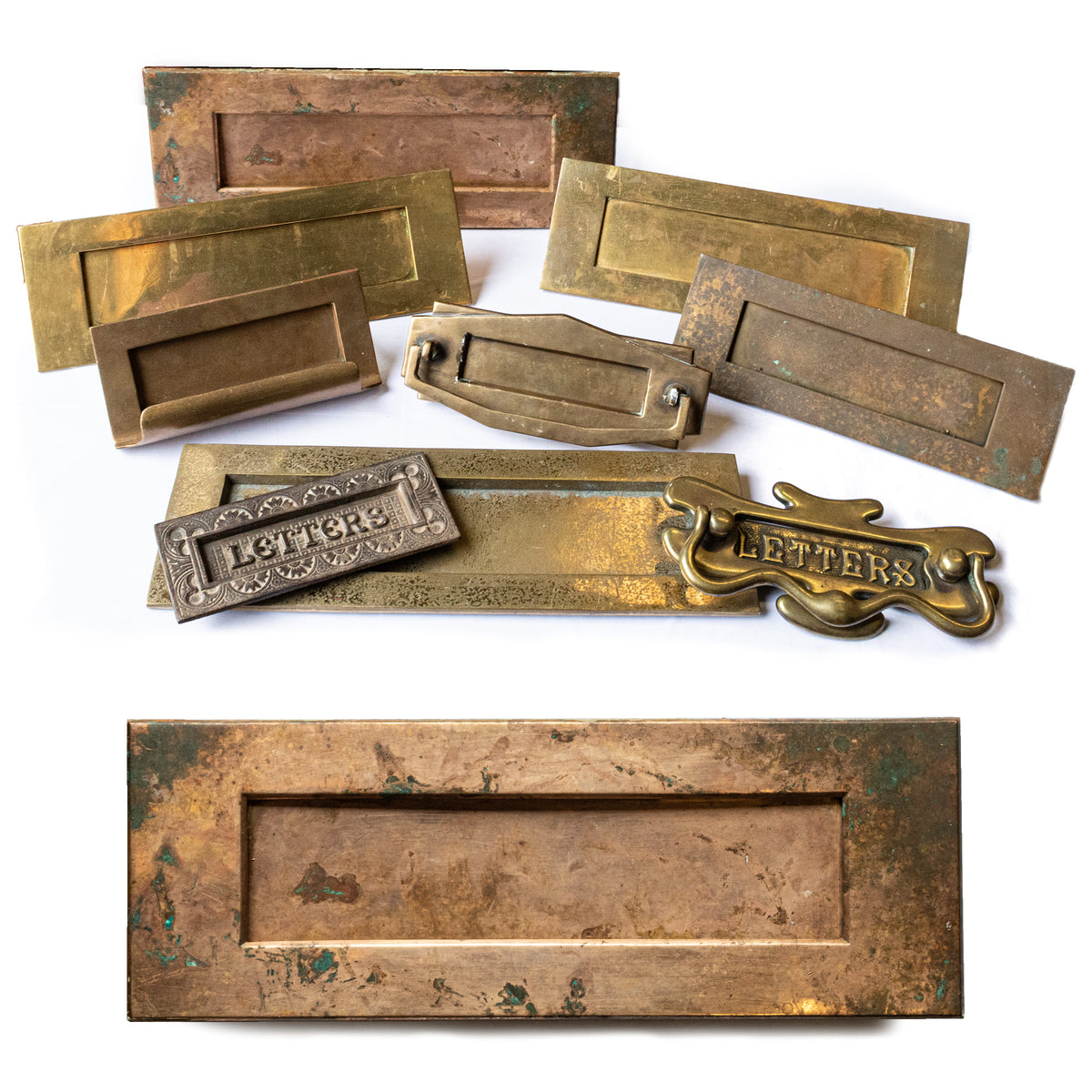 Antique and Reclaimed Brass Letterboxes | The Architectural Forum