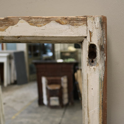 reclaimed sash window mirror