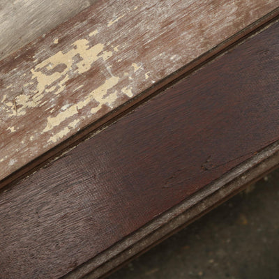 Reclaimed solid mahogany cladding or flooring