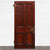 Antique Georgian Flame Mahogany Panelled Door -209cm x 91cm - architectural-forum