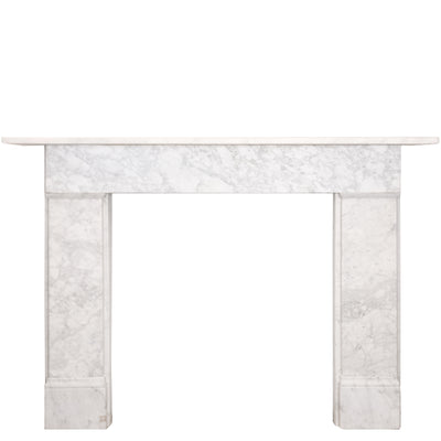 Antique Victorian Carrara Fireplace Surround - The Architectural Forum