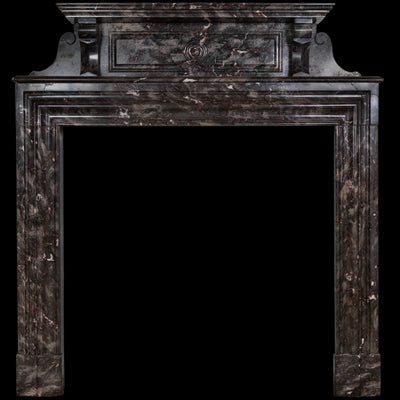 Antique Ashburton Marble Fireplace Surround - The Architectural Forum