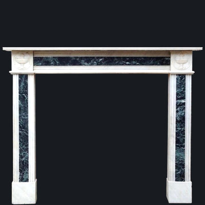 Antique Regency Marble Fireplace Surround - architectural-forum