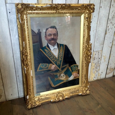 Masonic Lodge portrait
