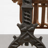 Antique Cast Iron Firedogs - The Architectural Forum