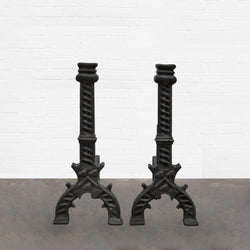 cast iron fire accessory