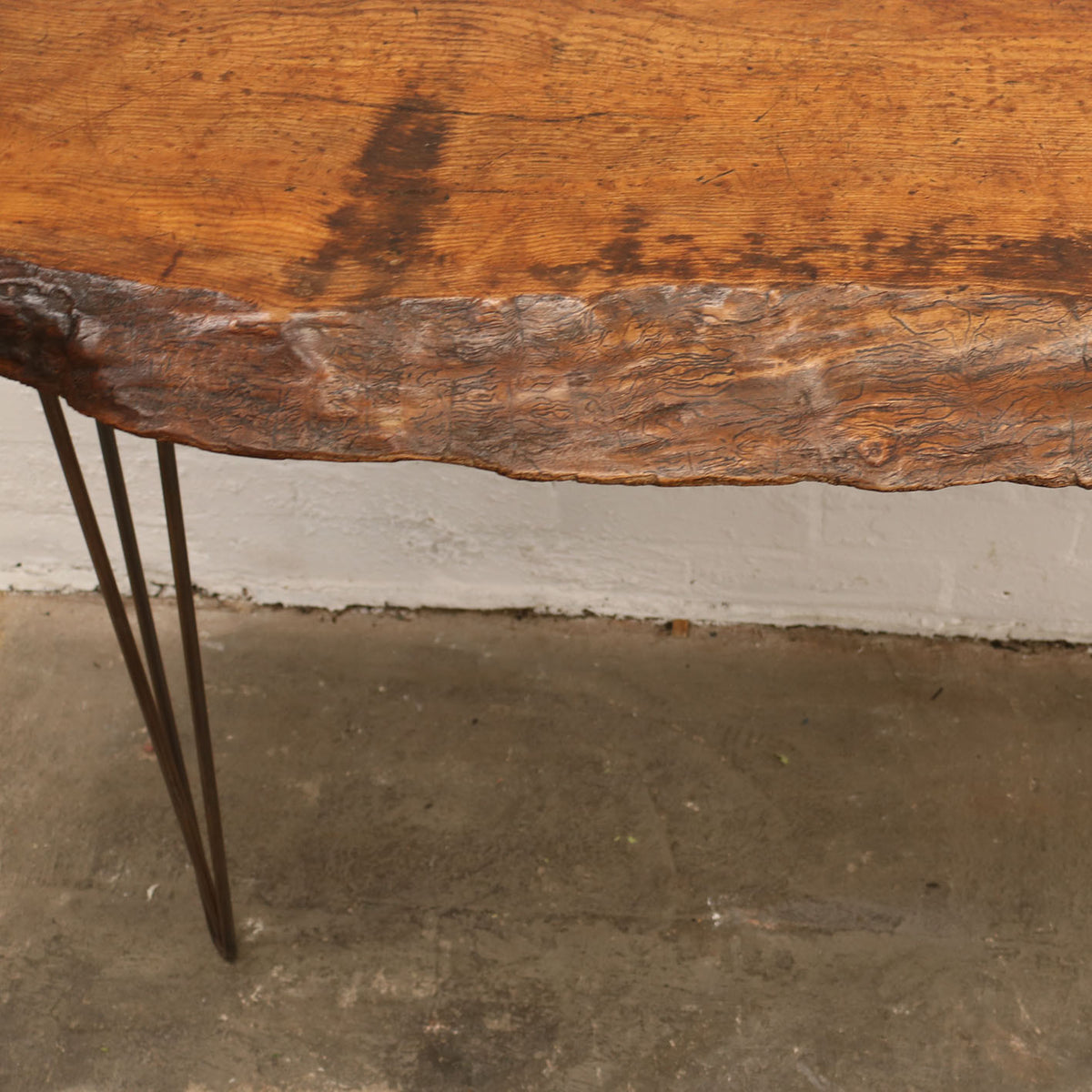 Reclaimed Oak Console Table | The Architectural Forum