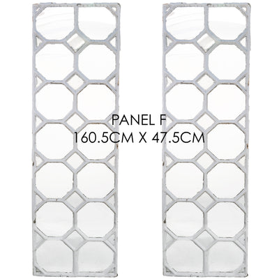 Reclaimed Late 19th Century Crittall Style Honeycomb Window Panels - architectural-forum