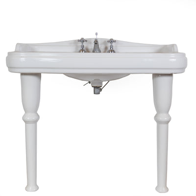 Pierre Cardin Porcelain Sink with Legs