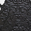 Antique Cast Iron Fireback - architectural-forum