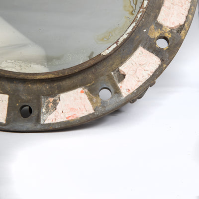 Antique Brass Naval Porthole - architectural-forum