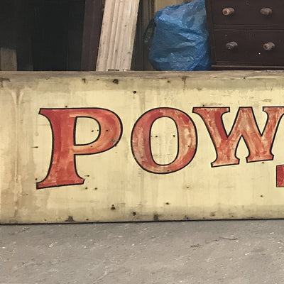Rare Salvaged Antique Victorian London Shopfront Sign - architectural-forum