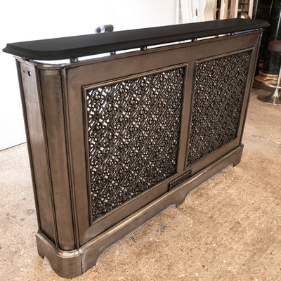 Antique Radiator Cover & Console Table - architectural-forum