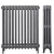 Antique 4 Column Cast Iron Radiator 12 Section (5 available)