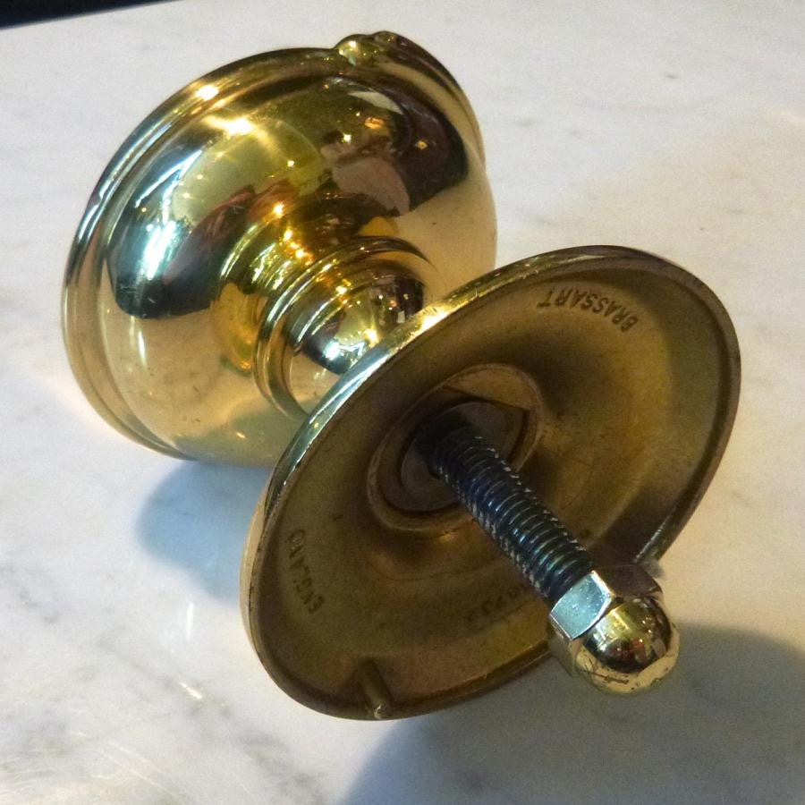 Polished Brass Door Pull